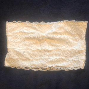 Lace Bandeau *never worn*